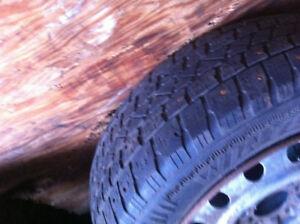 205 65 R 15 WINTER TX ARCTIC CLAW TIRES (3 for $50.00)...on rim