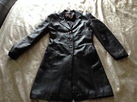 Ladys leather coat