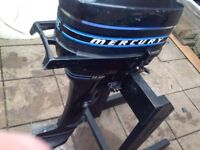 Mercury 7.5hp outboard engine long shaft