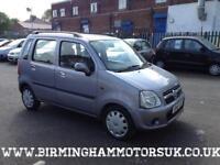 2005 (55 Reg) Vauxhall Agila 1.2 16v Enjoy 5DR Estate PURPLE + LOW MILES