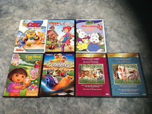 DVDs - assortment for kids