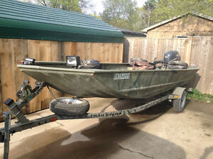 2006 Tracker Grizzly 17 ft & 30 hp Yamaha