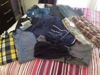 MENS/BOYS CLOTHES BUNDLE 30W JEANS EXC CON