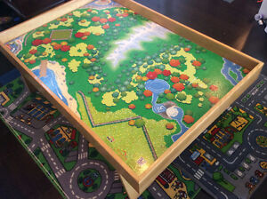 Custom Made Train Table with Authentic Thomas Train and Track Stratford Kitchener Area image 6