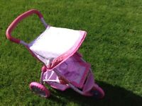 Dolls Pram in good condition