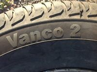 Continental Vanco 2    225/70r15 Nearly NEW!