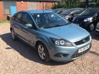 2009 Ford Focus 1.6 TDCi DPF Zetec 5dr 12 Month Mot brand new clutch just fitted 3month warranty