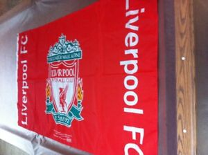 """Liverpool FC """"You'll Never Walk Alone"""" Hanging Banner 2004"""
