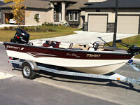 Starcraft 1800 Pro-Elite w 2003 Suzuki 140 Big Tiller - Loaded!