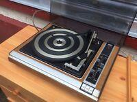Record deck : 1970s
