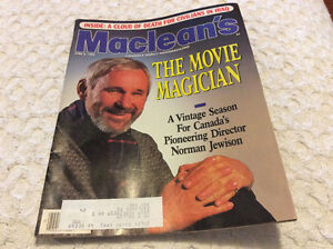 Maclean's Featuring Norman Jewison - The Movie Magician