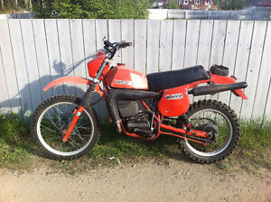 Old CAN AM Motorcycles & Parts Wanted