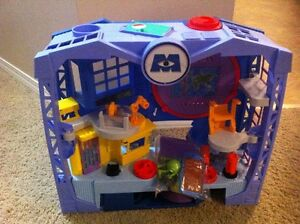 Monster university castle and items