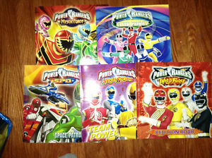 Collection of Power Ranger books for sale