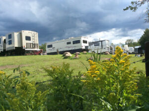 RunWay RV Park full service site rentals near Cold Lake AB