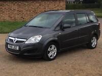 2010 Vauxhall Zafira 1.6 16v Exclusive ( 115ps )