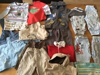 Bundle of boys clothes ages 1/12- 2 years
