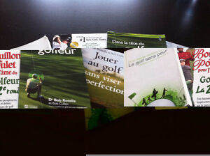 Lot de 3 Livres de golf psychologie Rotella Cullen +++