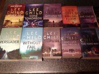 Jack Reacher Books by LeeChild. Complete Set.