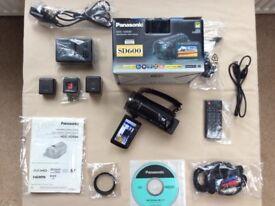 Panasonic HDC SD600