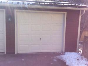 Garage doors not insulated