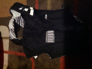 EUC BLACK AND WHITE BABY CARRIER