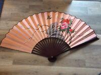 Beautiful decorative fan - large