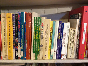 Sign Language Book Collection