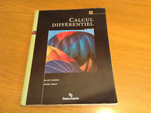 Calcul différentiel, 5e Édition, Gilles Charron, Pierre Parent