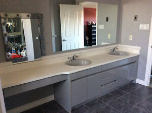 Appliances, Island counter top, kitchen sink & bathroom vanities