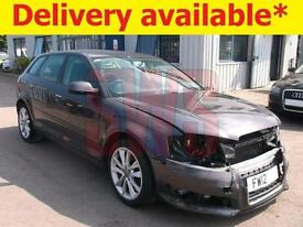 2012 Audi A3 Sport TDi 1.6 DAMAGED REPAIRABLE SALVAGE