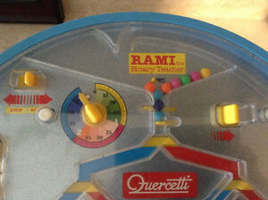 VTG ORIGINAL RAMI: THE BINARY GAME BY QUERCETTI MADE IN ITALY Gatineau Ottawa / Gatineau Area image 1