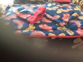 Liner lap pad snuggle pouch