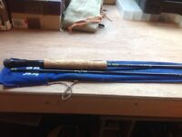 "Taylor and Johnson rapier 9'6"" carbon trout fly rod"