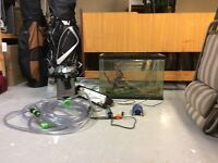 20 gallon fish tank with all the accesories