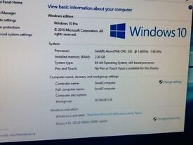 D945GCLF2 - 320GB HDD, Windows10, 2GB Ram, WiFi, HTPC case