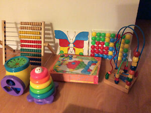 Baby & young children's toys/little people/abacus