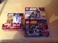 Star Wars Lego and R2-D2 Bop It. All brand new and unopened.
