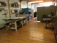 sewing studio to share or sublet