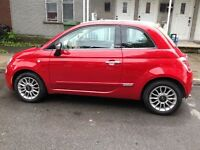 2012 Fiat 500 lounge Cabriolet