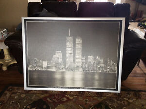 Large IKEA New York Framed Pucture