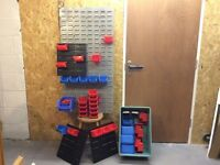 Plastic Bin Storage System