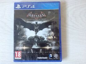 New & Sealed Sony Playstation 4 Batman ARKHAM KNIGHT