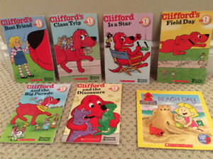 Childrens Books Caillou Clifford Lego City Ninja Turtles & More.