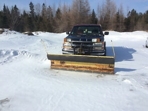1995 Chevrolet Silverado 2500 Pickup Truck with Myers plow