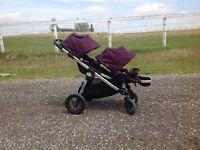Baby jogger city select double stroller: Excellent Condition
