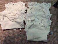 Baby 0-3 vests