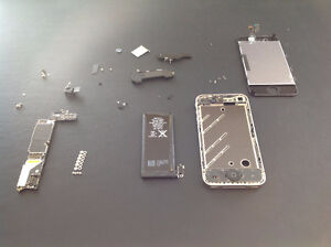 Parts from iPhone 4 Black