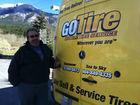 Mobile tire service - Go Tire Sea to Sky
