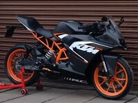 KTM RC 125 ABS. Only 9734 miles. Delivery Available *Credit & Debit Cards Accepted*